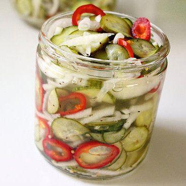 Basic Quick Pickle Recipe