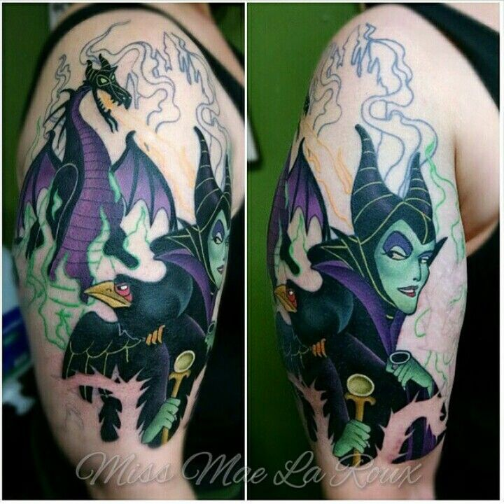Maleficent Tattoo Maleficent Tattoo Body Art Tattoos Tattoos