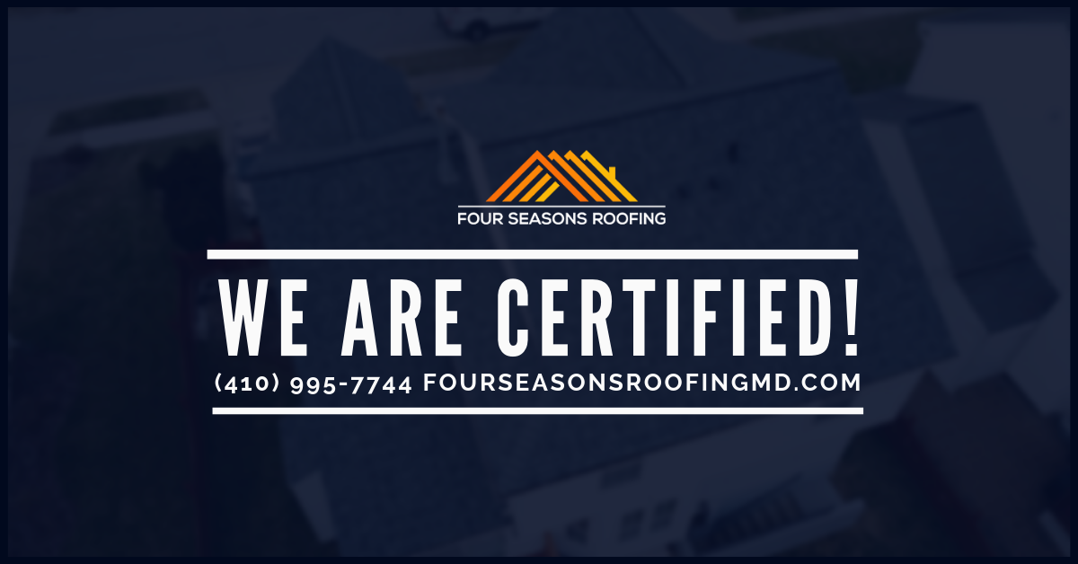 Four Seasons Roofing Is Certified With All Major Shingles Manufactures And Can Provide You With Lifetime Manufacturer Warranty Roofing Four Seasons House Roof