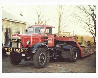 1948 Mack Truck Color Photo 0075 - Pepperell Trucking in ...