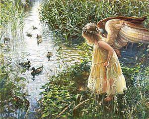 Angels by Sandra Kuck♥.•:*´¨`*:•♥.
