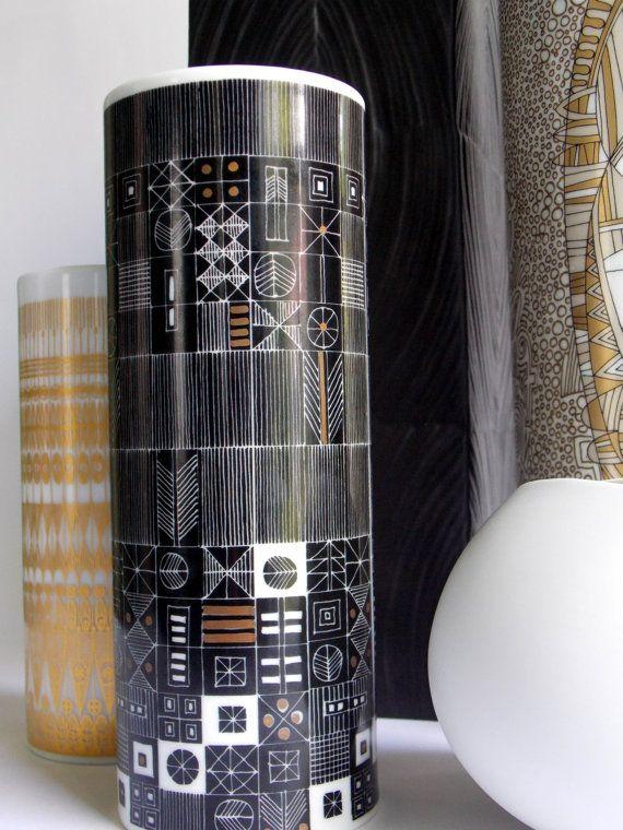 Hans Theo Baumann For Rosenthal Studio Line Vase Black