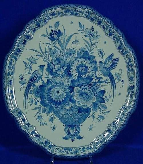 RP: Wall Plaque Royal Delft