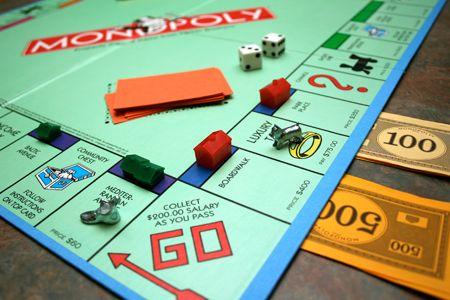 het spel monopoly