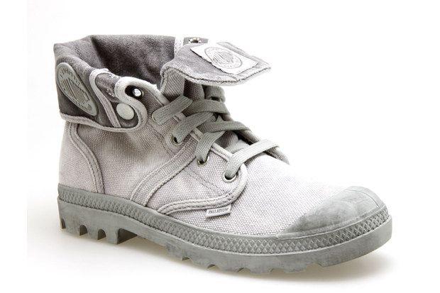 baskets palladium baggy gris chaussures femme mode. Black Bedroom Furniture Sets. Home Design Ideas