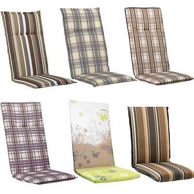 KETTLER Luxus Hochlehner Auflage Stuhlauflage Sessel Polster Garten Stuhl  Kissen 4