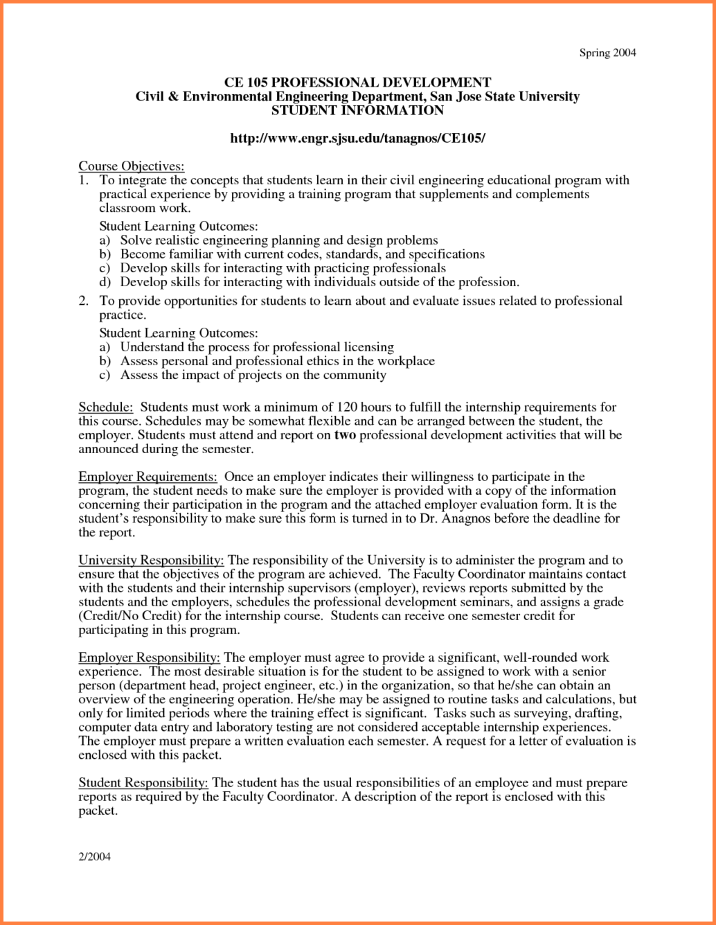 Civil Engineering Cover Letter Internship Others Professional
