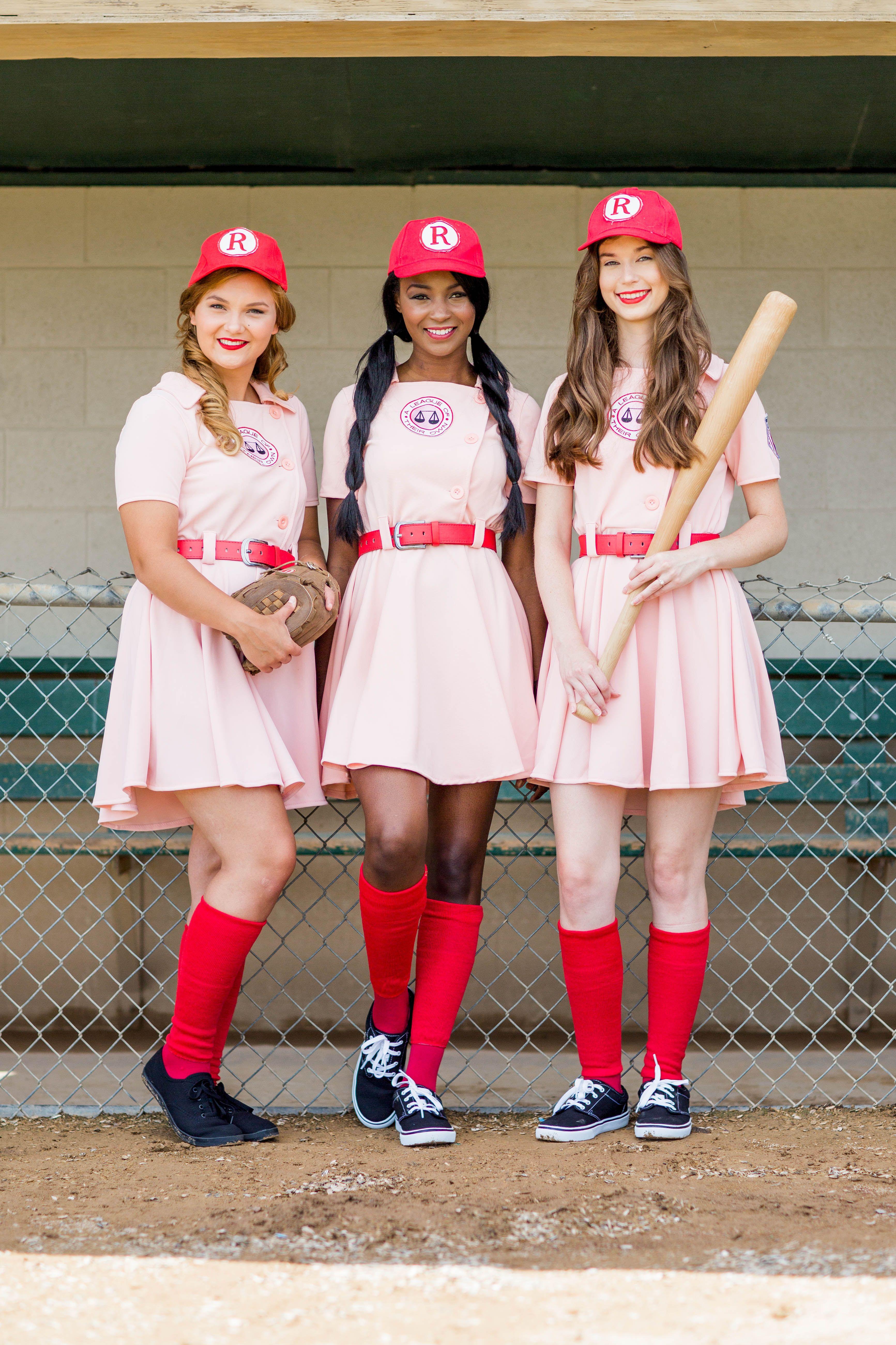 Fun Groupindividual Halloween Costume Idea- Hit The Bases -9345