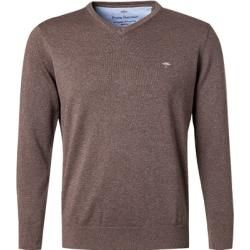 Photo of Fynch-Hatton Pullover Herren, Baumwolle, braun Fynch Hatton