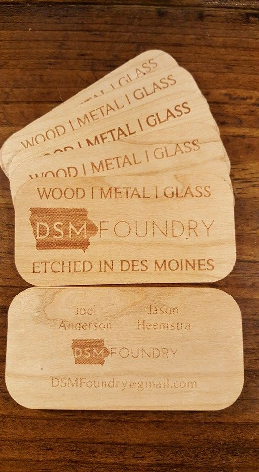 Talk to dsm foundry about wooden business cards httpwww talk to dsm foundry about wooden business cards httpdsmfoundry colourmoves