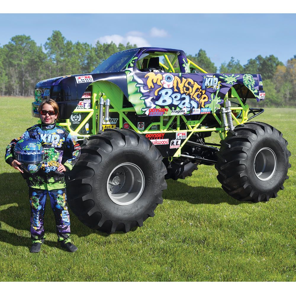 Mini Monster Truck Crushes Every Toy Car Your Rich Kid ...