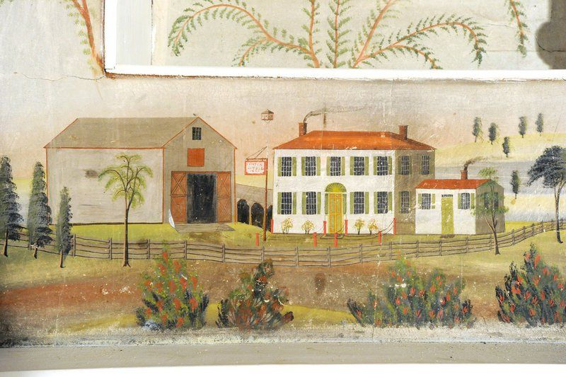 Historic Maine house murals bound for new home American