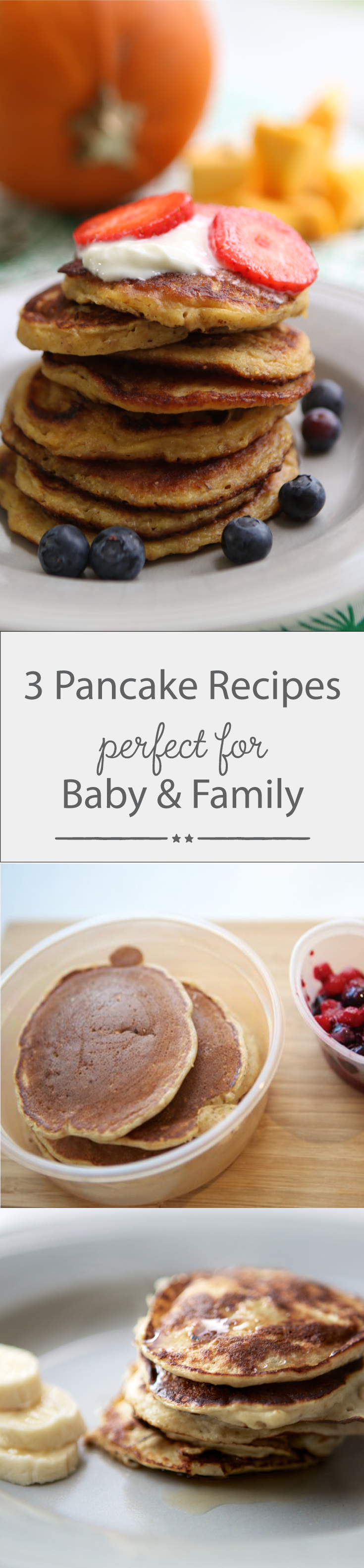 Our easy, healthy pancake recipes are perfect for baby and family. Whether it's Pancake Day or you just fancy delicious pancakes for breakfast, they are perfect for everyone to enjoy all year round. Repin for recipe inspiration!