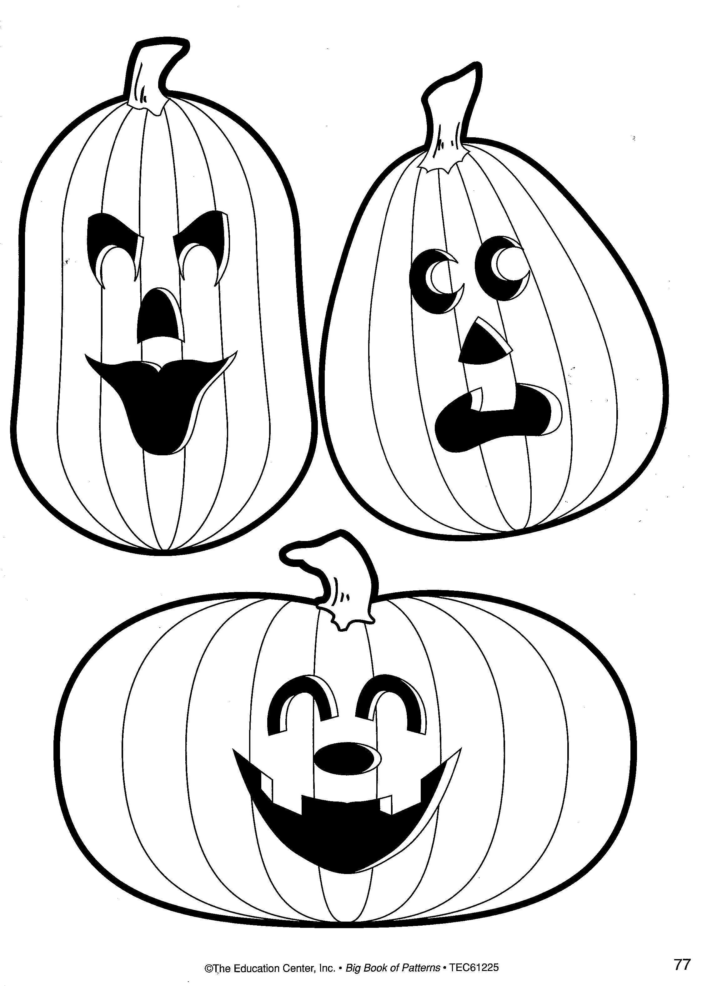 Pumpkin Patterns | School Pattern Printables | Pinterest