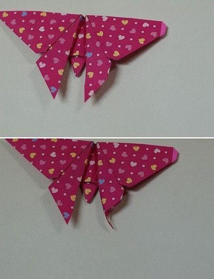 Photo of Ich liebe Kunsthandwerk: Origami-Schmetterling Schritt für Schritt