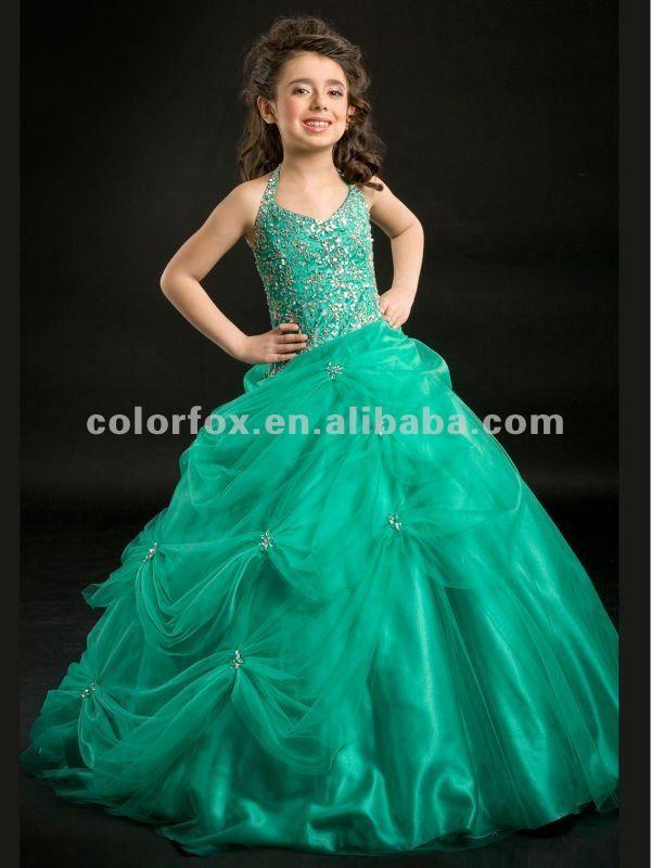 Verde para niña