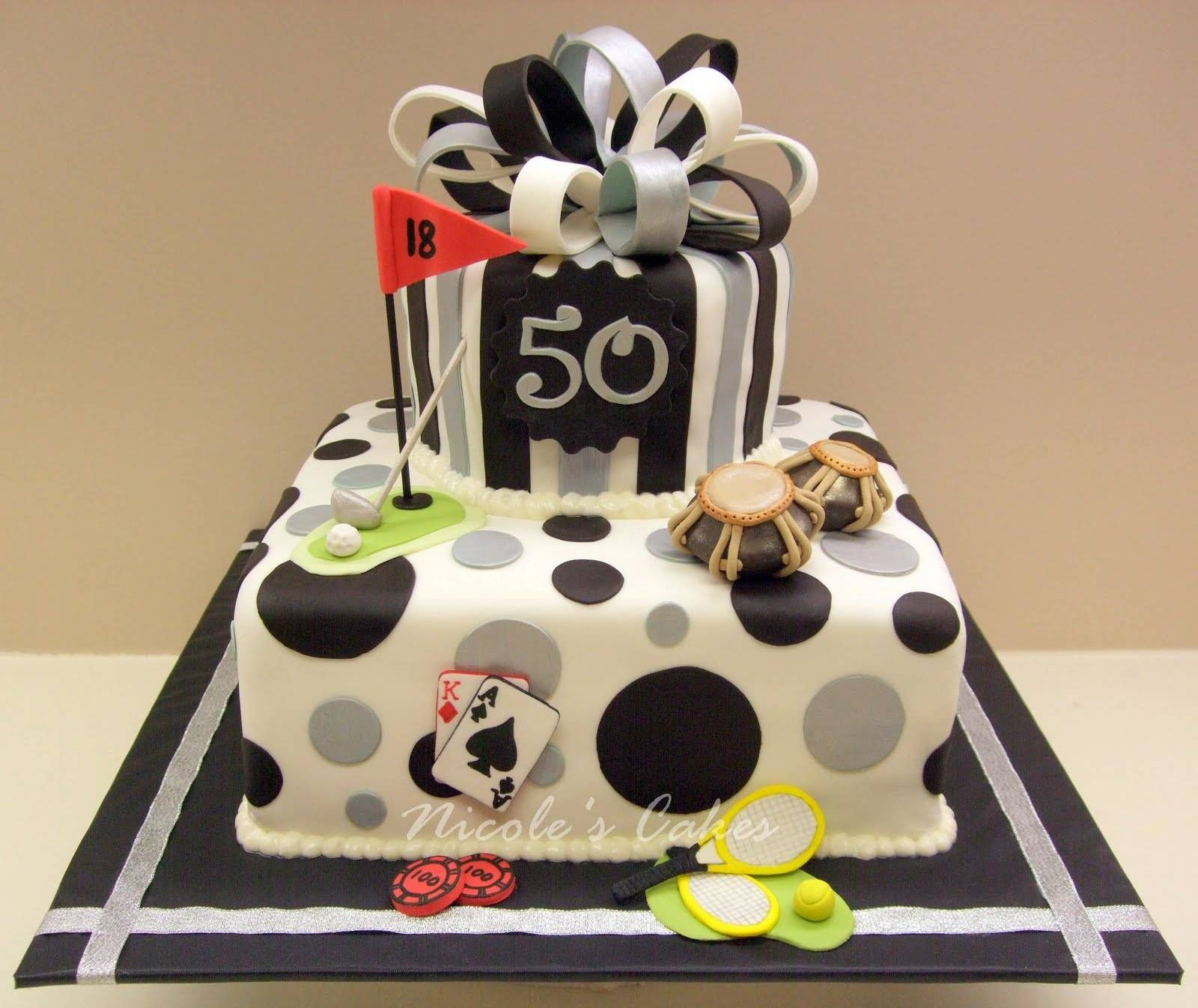 50th Birthday Cakes For Men Fun Cakes I Want To Try