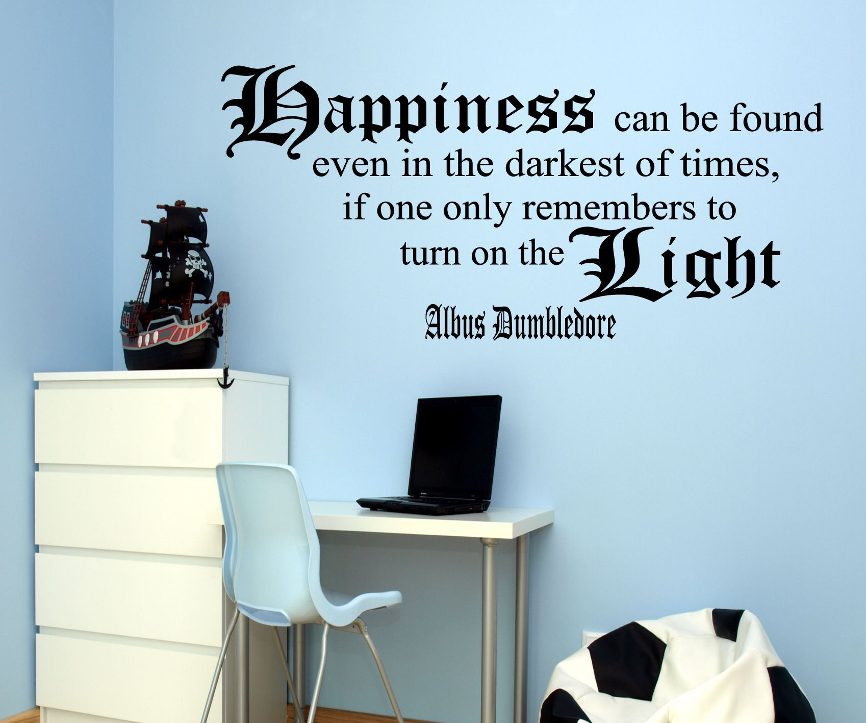 Harry Potter Dumbledore Quote Wall Art So, So Awesome