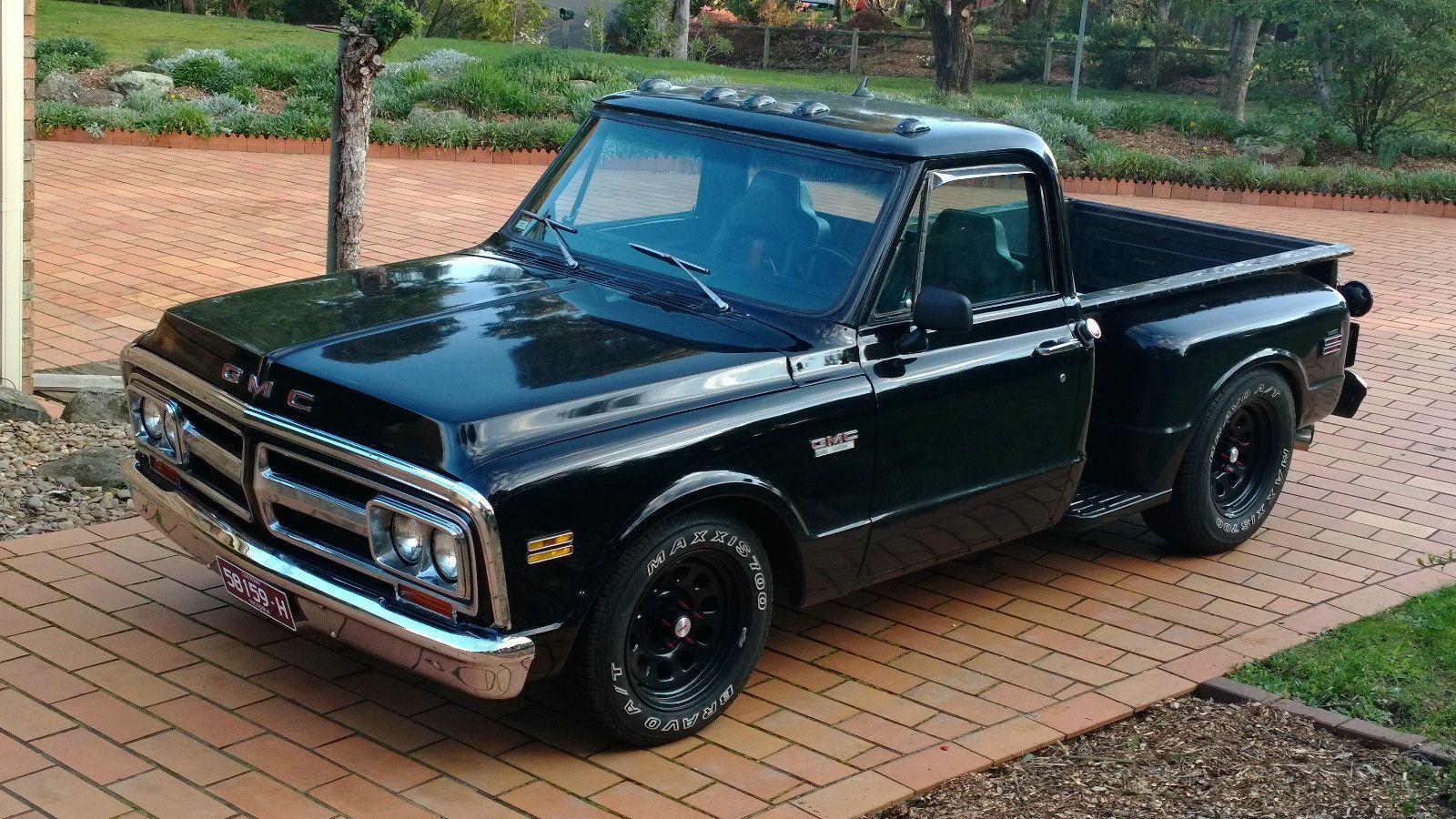 1972 72 gmc stepside pickup 350 auto like c10 chev nice patina in vic ebay