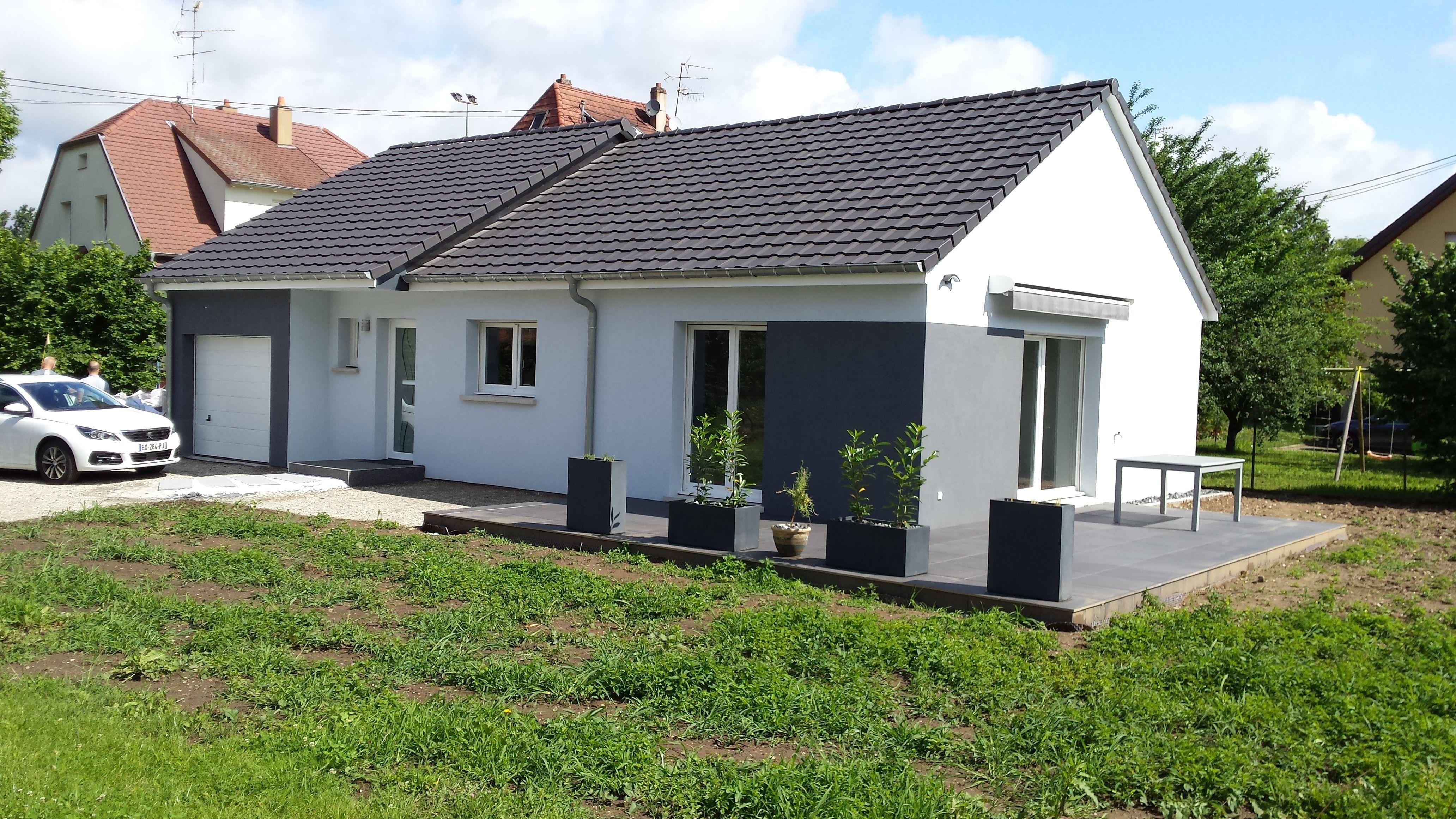maison plain pied kochersberg