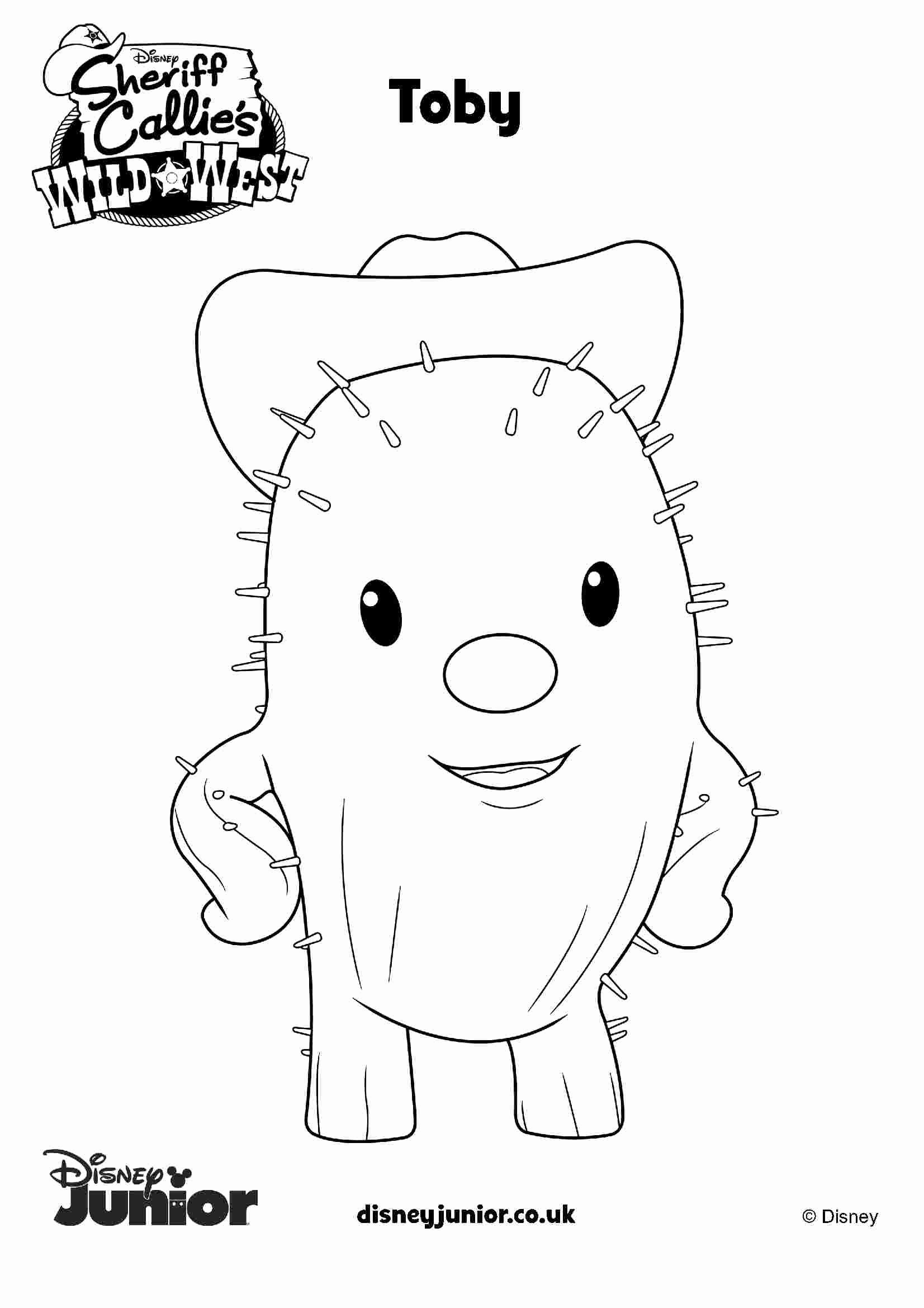 Coloring Pages Disney Junior New Coloring Pages Disney