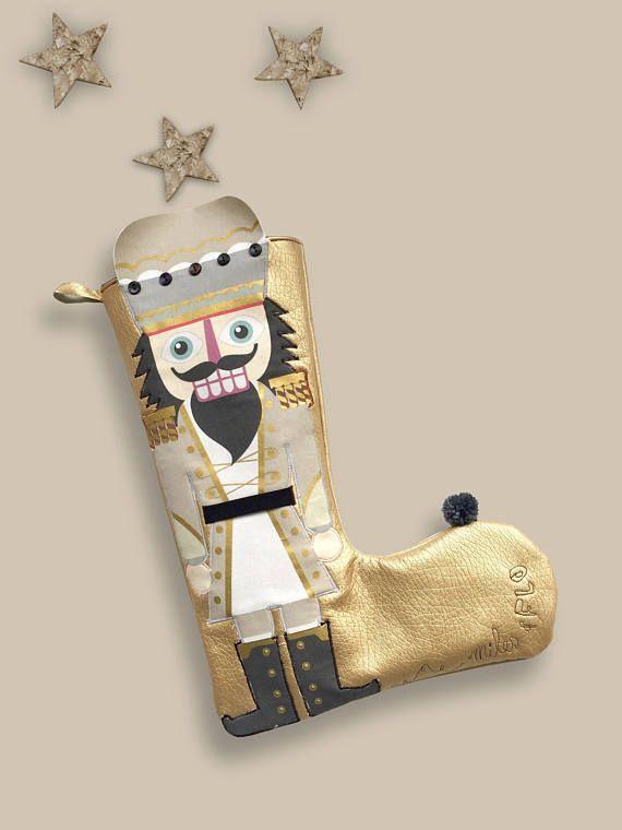 christmas stocking classic christmas nutcracker stocking - Classic Christmas Stockings
