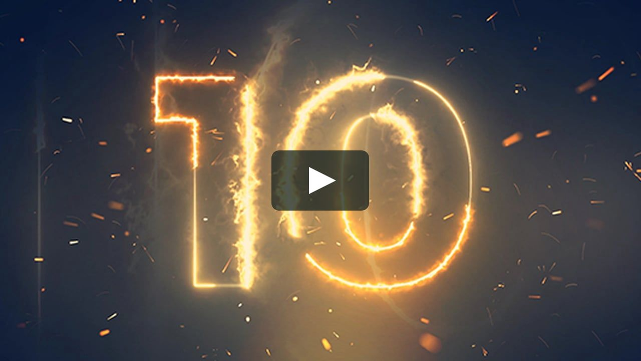 Animation Aftereffects Celebration Christmas Clock Countdown Counting Fire Fireworks Gold H New Years Countdown Countdown Motion Graphics Inspiration