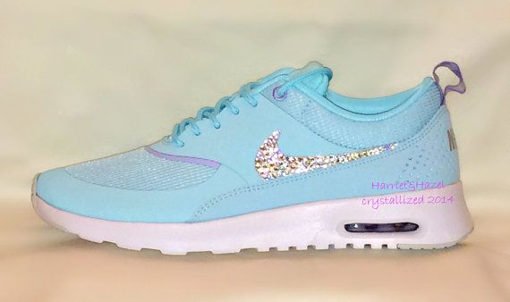 Women's Nike Air Max Thea in Glacier Ice by HarrietHazelDesigns
