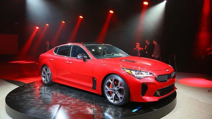The New Kia Stinger Gt Kia Stinger Kia Sedan