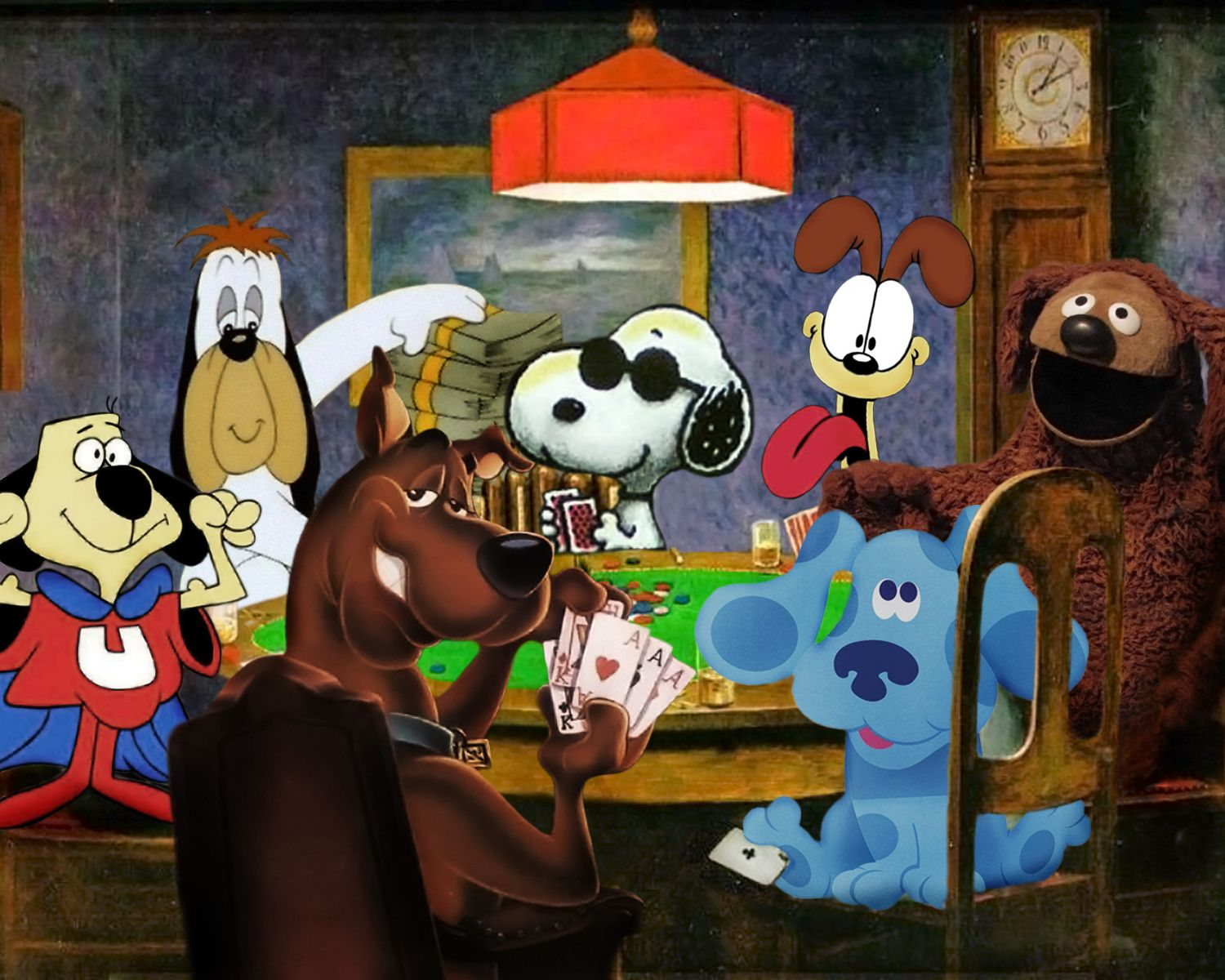 Dogs Playing Poker Snoopy Funny Snoopy Images Cool Cartoons