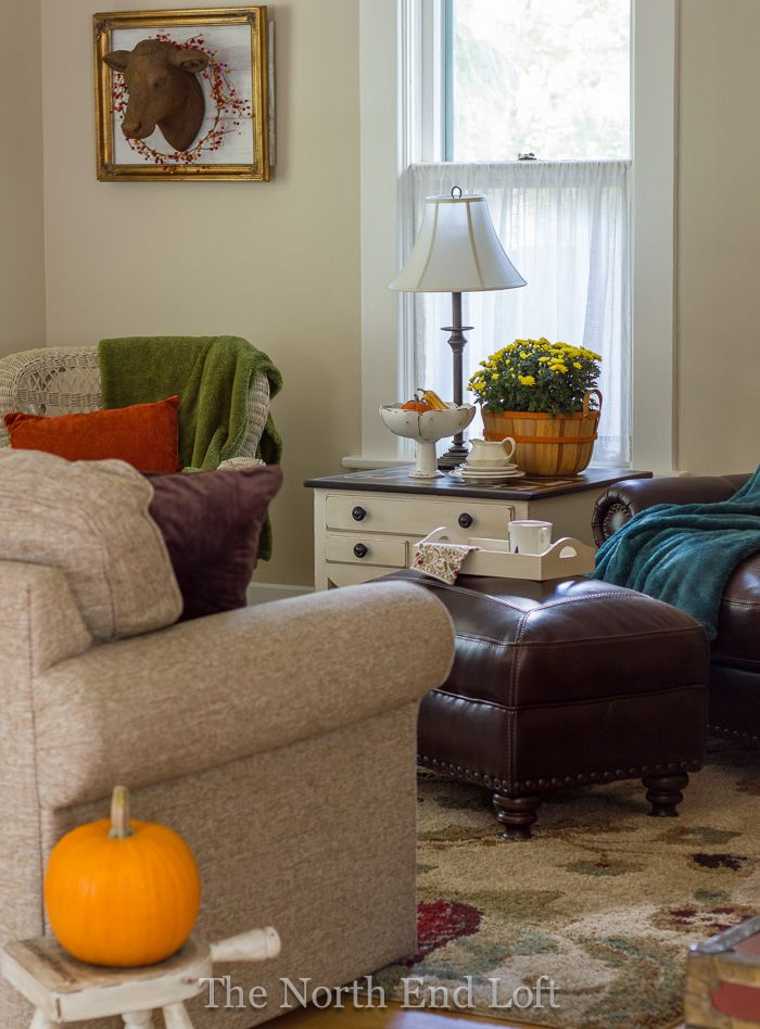 The North End Loft Living Room Updates And Fall Decor Fabulous
