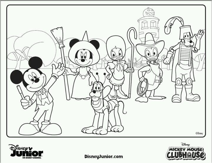 mickey coloring page prek printables pinterest coloring and on disney junior mickey mouse coloring pages