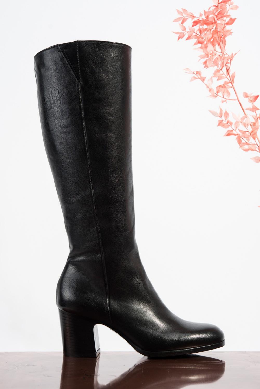 High Boot GELSO 968 Black Calf NEW IN CC Skor Online