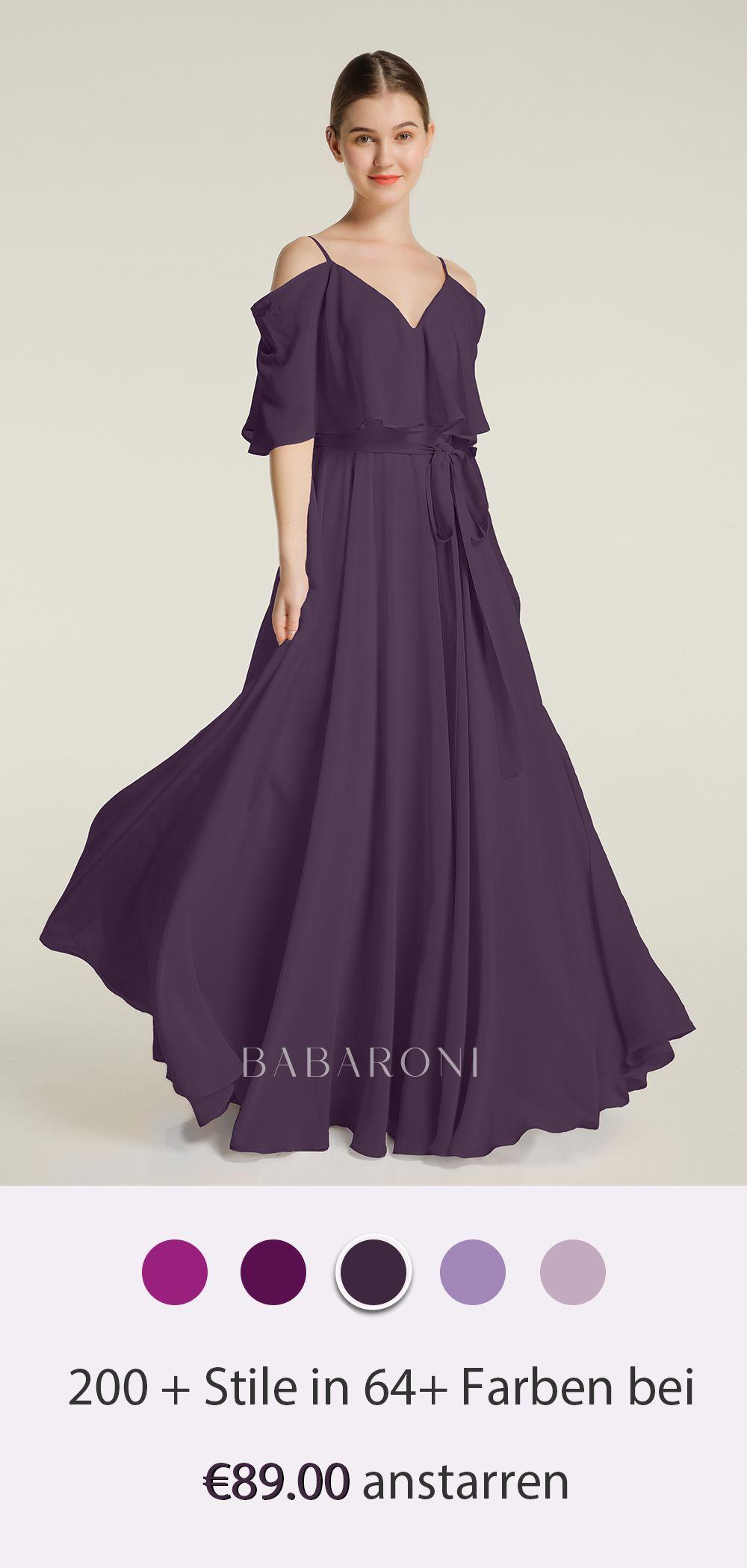 Babaroni Ann in 5  Chiffonkleid, Schöne kleider