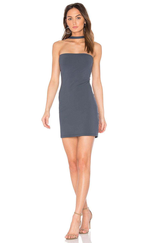 Susana Monaco x REVOLVE Elena Dress in Charcoal | REVOLVE