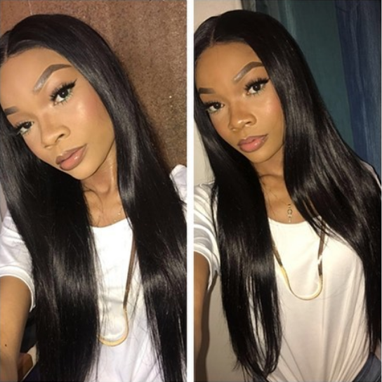 ❤Lucky virgin hair 100% unprocessed virgin hair ※no shedding※no tangling※no smell※double weft※can be straightened※can be dyed/bleached※can be curled. ❤Left product detail: Texture:Body weave  Material:#Peruvian #Brazilian #Malasian #Mongolian etc..  Length:10-28inch Color:Natural color ❤Right product detail Texture:Straight Material:#Peruvian #Brazilian #Malasian #Mongolian etc..  Length:10-28inch Color:Natural color ❤Leave your whatsapp or add me (+8618127980991) #brazilianstraightening