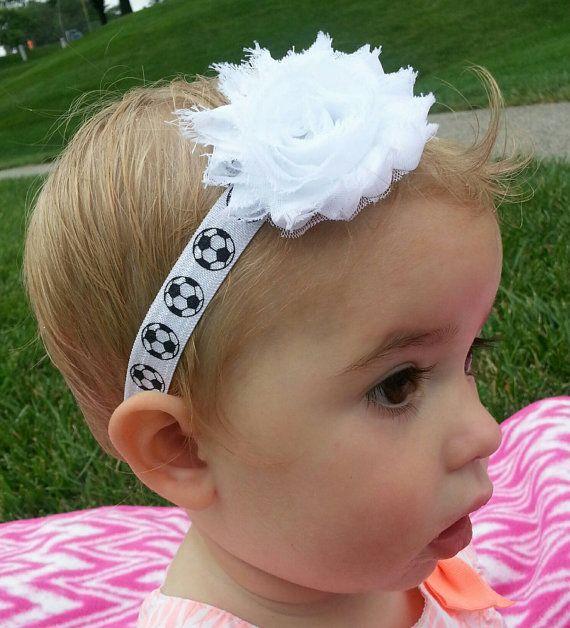 Best Soccer Fan Ever Soccer Headband By Arabellasbows On Etsy 4 50 Soccer Headbands Soccer Baby Headbands