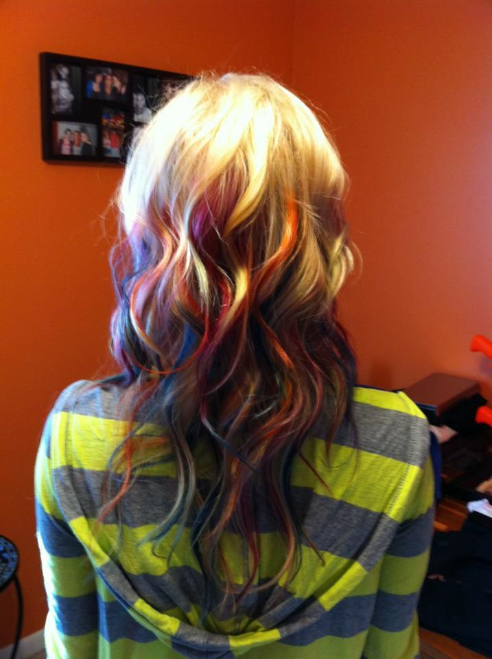 Half tempted to dye my hair blonde so I could do this!