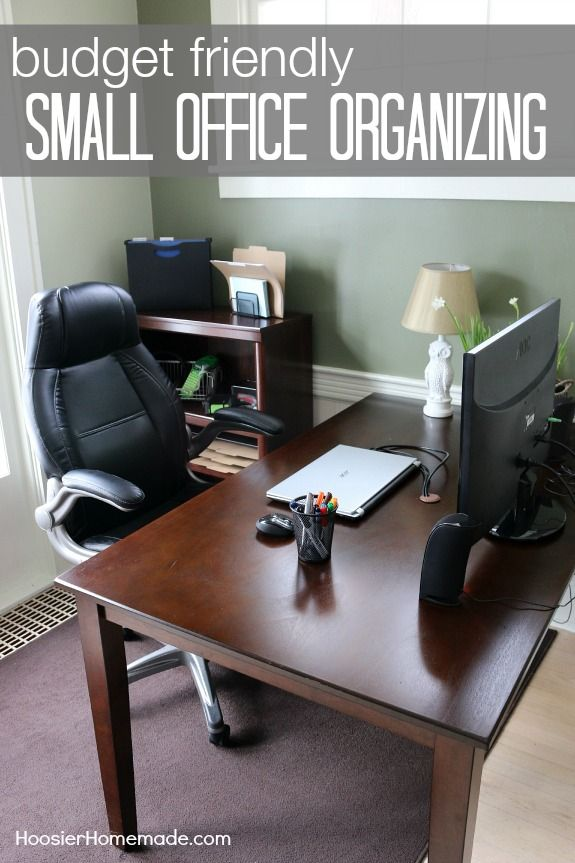 These Budget Friendly Tips On Organizing Your Home Office
