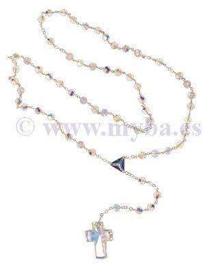 C mo hacer rosarios con plata de ley cristal swarovski y for Como limpiar un rosario de plata