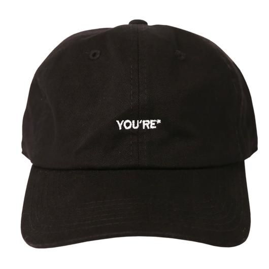 71028203ff06d You're* Dad Hat (Black) in 2019 | Hats | Dad hats, Hats, Black dad