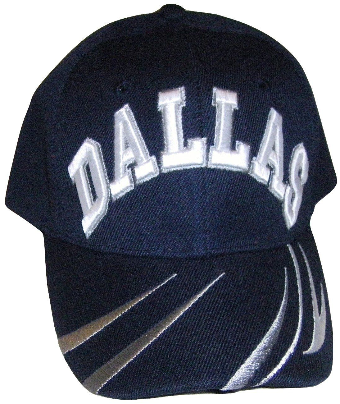 reputable site 454a8 65f40 Dallas Adjustable OSFA Baseball Cap with Velcro Enclosure, Price   7.95 -  Save   5.04
