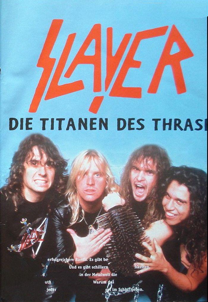 Die Titanen Des Thrash poster