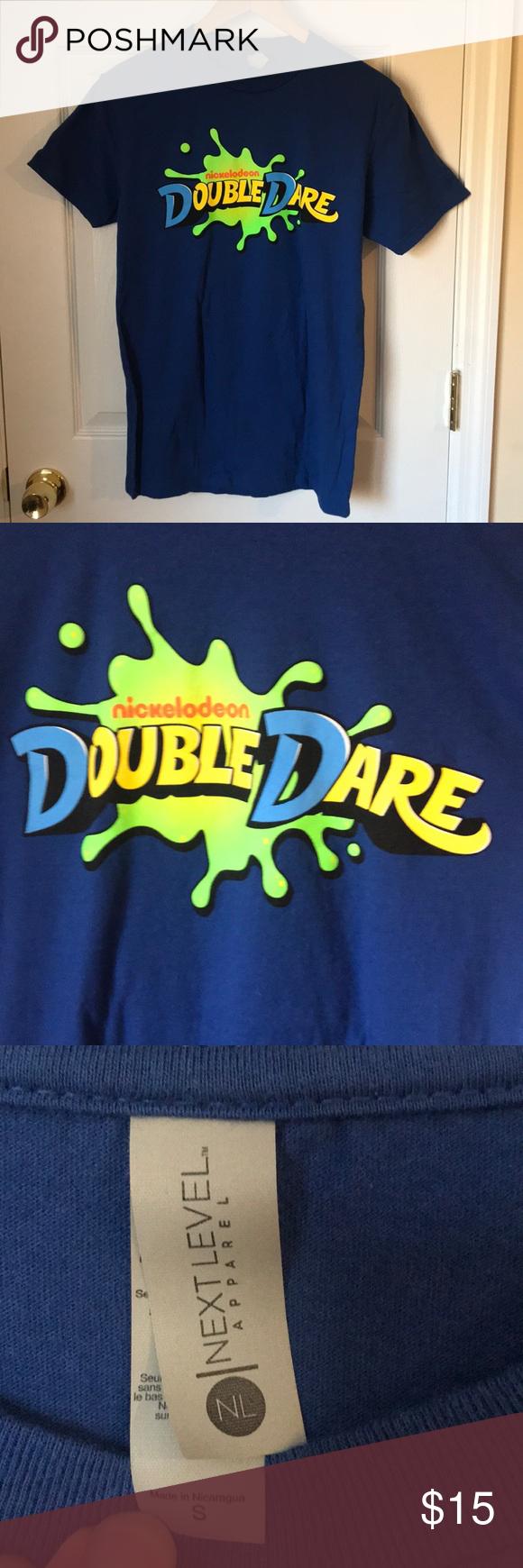 Nickelodeon Double Dare Game Show TShirt Brand new, never
