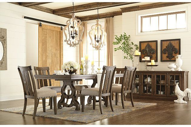 Wendota 5 Piece Dining Room By Ashley HomeStore Brown