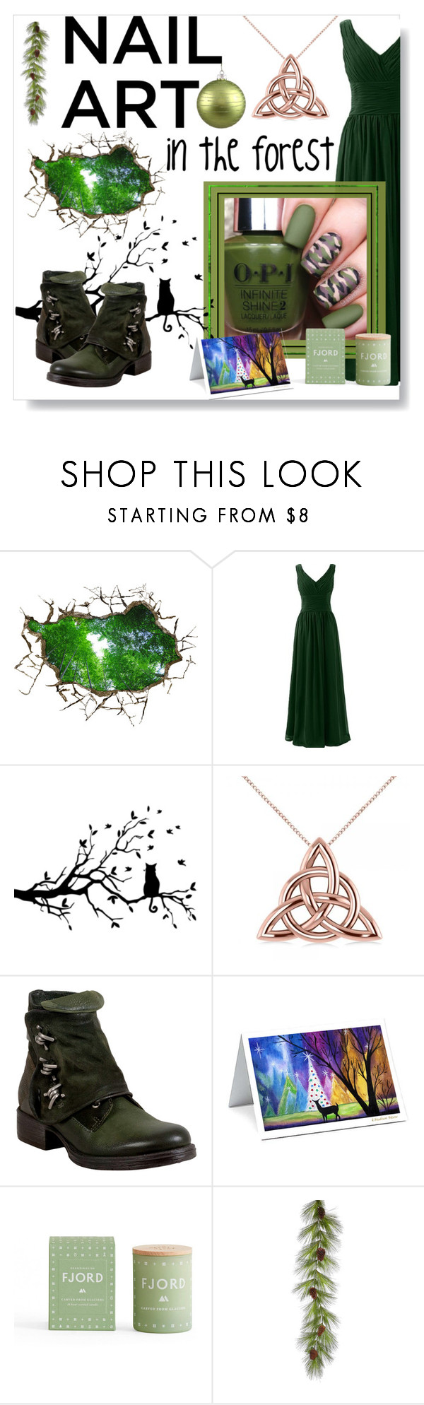 """""""in the forest"""" by iloveponies10 ❤ liked on Polyvore featuring beauty, Allurez, Miz Mooz and Skandinavisk"""