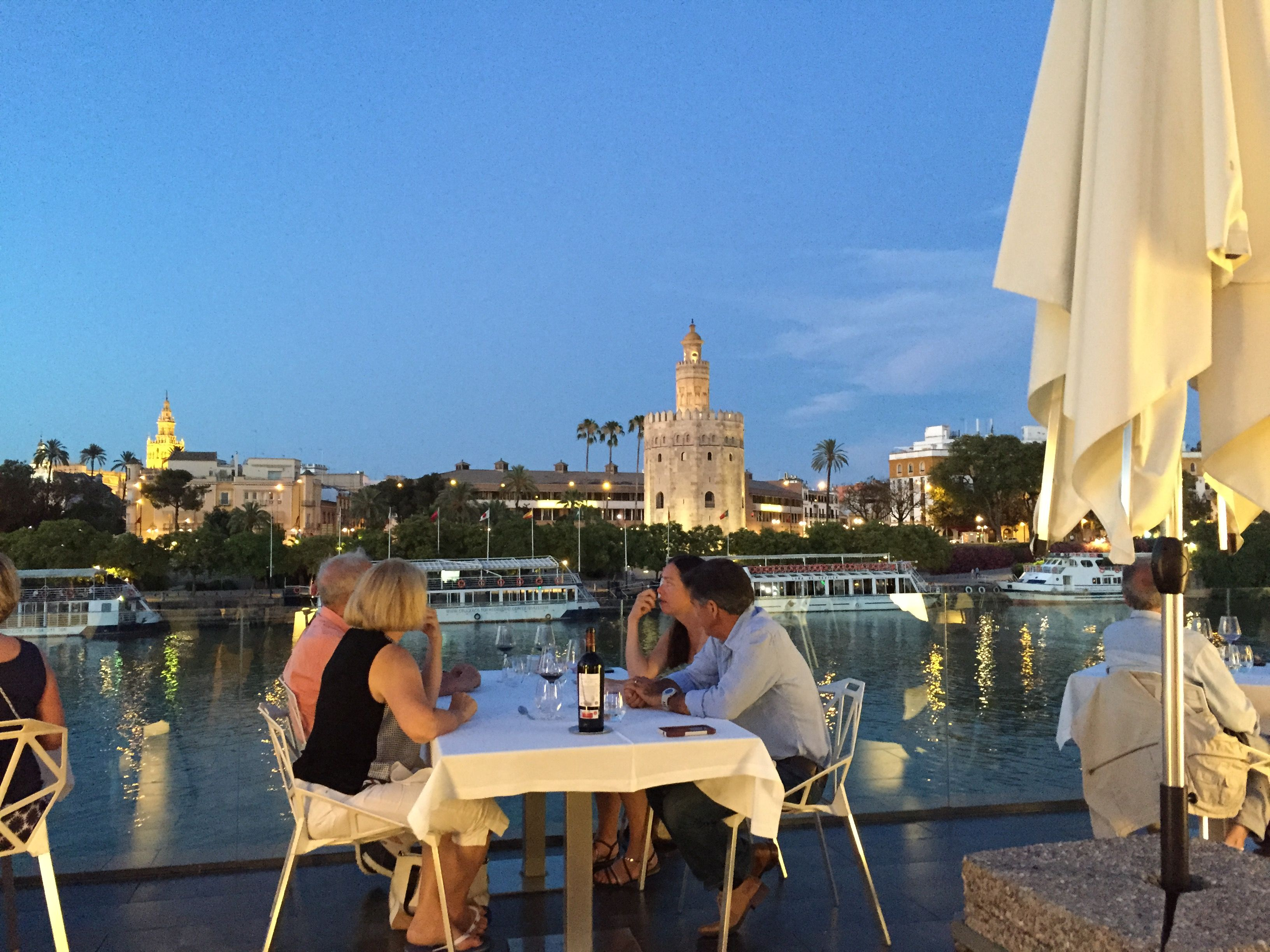 Abades Triana Restaurant Seville Spain Luxury Travel