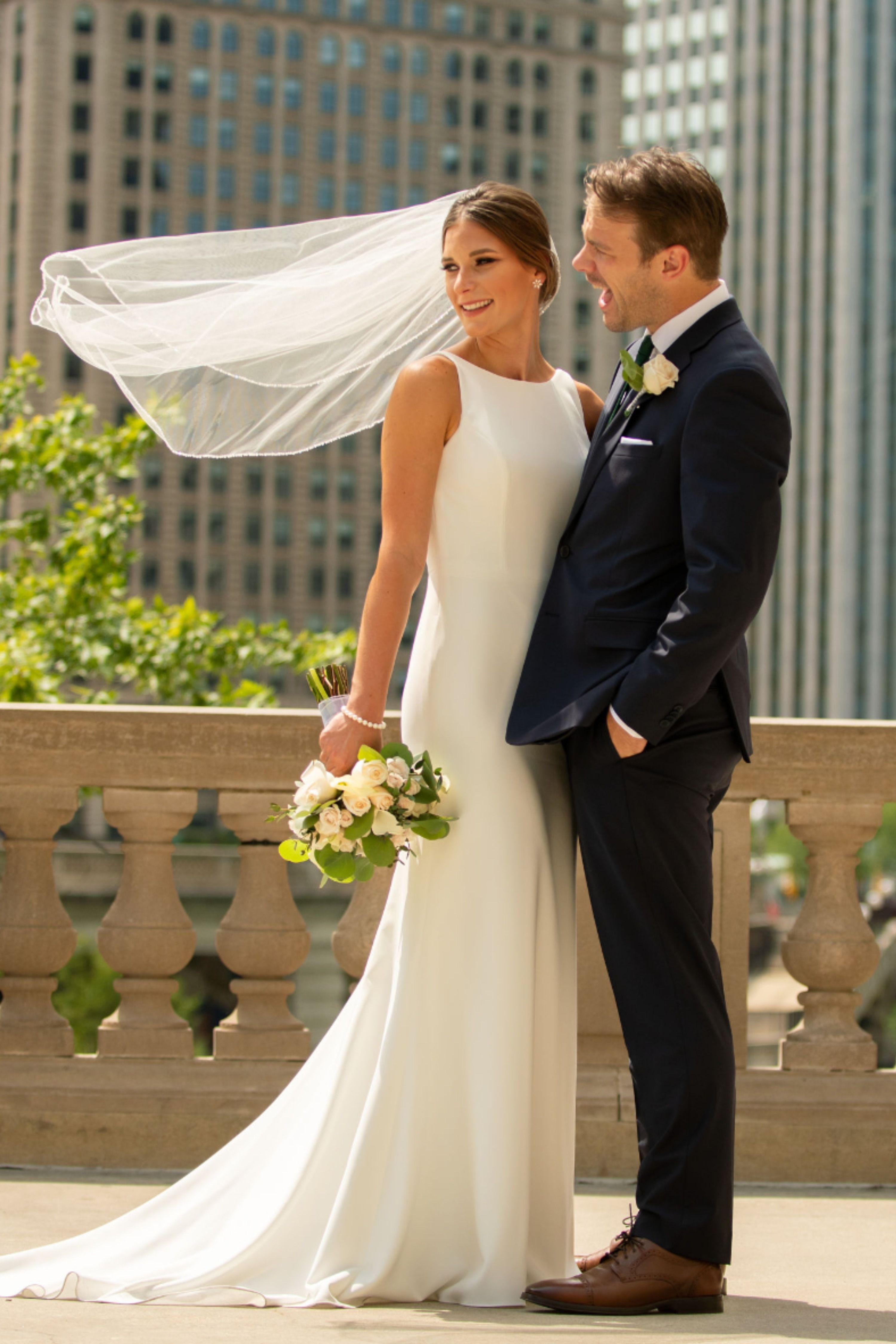 Simple Crepe High Neck Wedding Dress Sheath Wedding Dress Lace Wedding Dresses Crepe Wedding Dress [ 4500 x 3000 Pixel ]