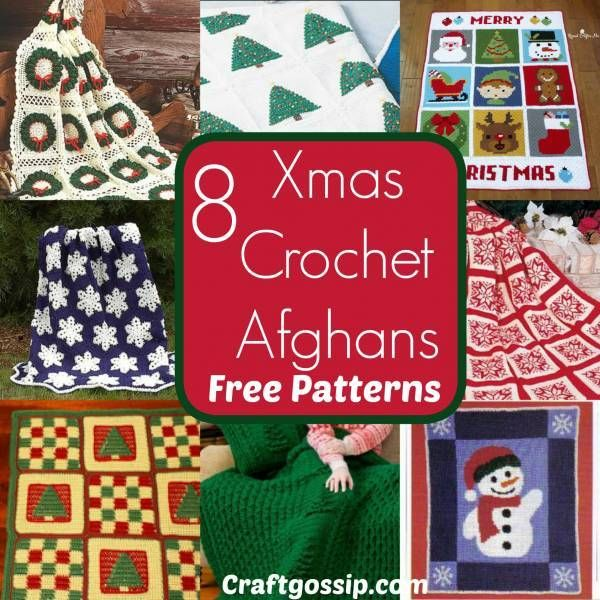 8 Free Christmas Afghan Blanket Patterns Holiday Time Afghans And
