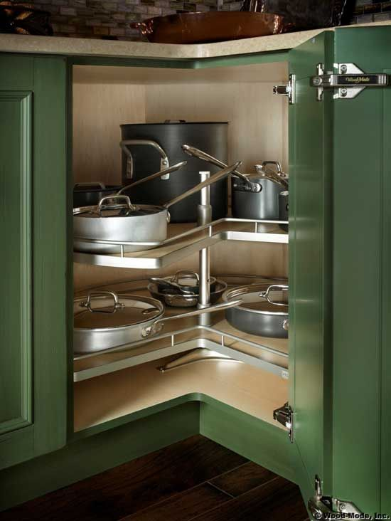 Learn About Specialized Kitchen Storage Solutions That Are Well Designed To Help Eliminat Kitchen Corner Storage Corner Kitchen Cabinet Kitchen Cabinet Storage